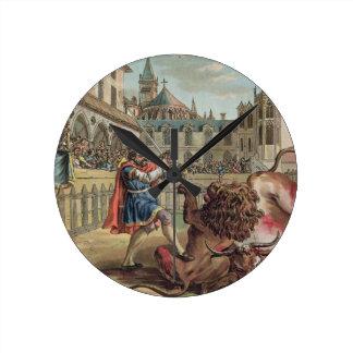 El valor de Pepin (714-68), grabado por los vagos  Reloj Redondo Mediano