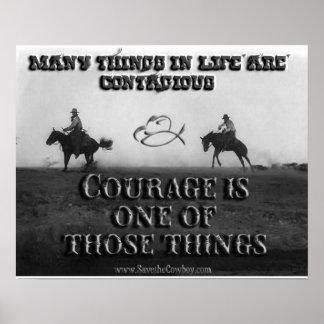El valor es contagioso posters