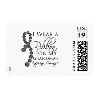 El valor inspirador de la abuela - cáncer de piel timbres postales