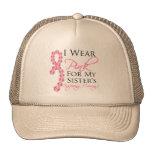 El valor inspirador de la hermana - cáncer de pech gorro