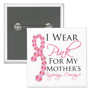 El valor inspirador de la madre - cáncer de pecho pins
