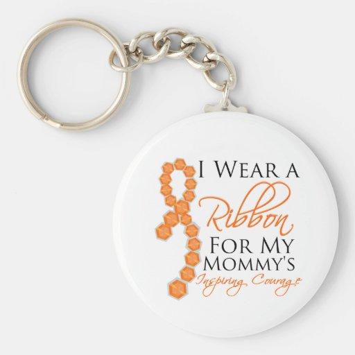 El valor inspirador de la mamá - leucemia llavero