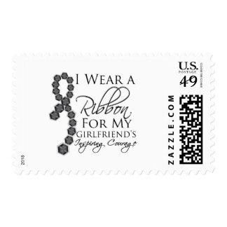 El valor inspirador de la novia - cáncer de piel sello postal