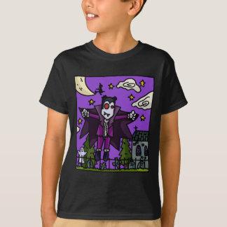 El vampiro embroma la camiseta