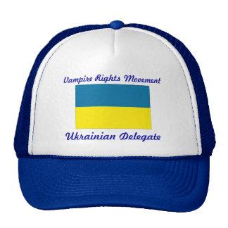 el vampiro endereza el movimiento - delegado ucran gorro de camionero