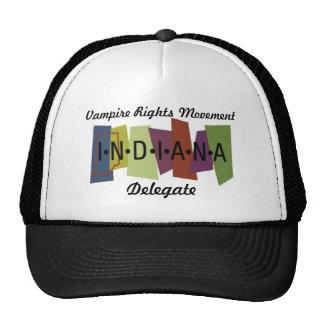 El vampiro endereza el movimiento - Indiana Gorra