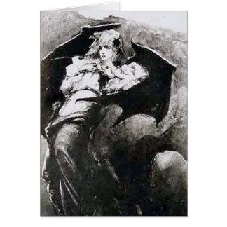 El vampiro herido Wilhelm Kotarbinski Tarjeta De Felicitación