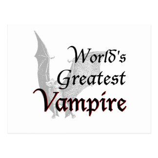 El vampiro más grande del mundo postal