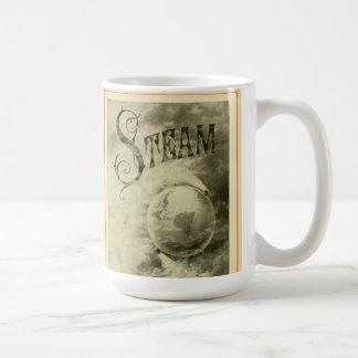 El vapor funciona con el mundo 1904 taza clásica