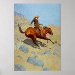 El vaquero de Federico Remington (1902) Poster