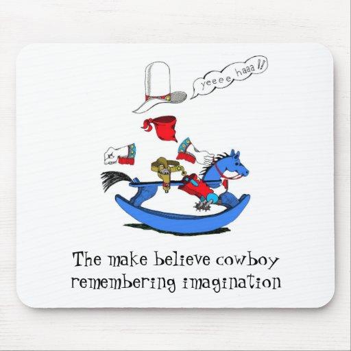 El vaquero del MB, hace para creer al vaquero que  Tapete De Ratones