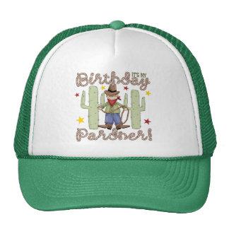 El vaquero embroma cumpleaños gorro