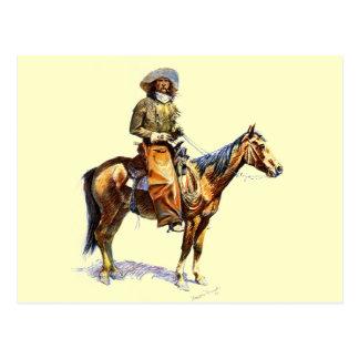 El vaquero postales