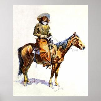 El vaquero póster
