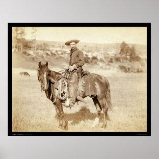 El vaquero SD 1887 Póster