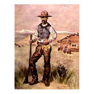 El vaquero tarjetas postales