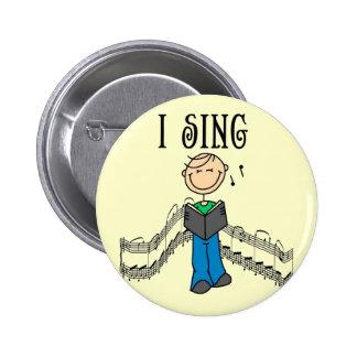 El varón I canta las camisetas y los regalos Pin