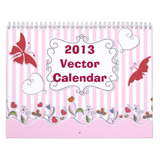 El vector diseña el ~ 2013 del calendario