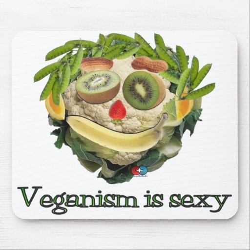 El Veganism es atractivo Tapetes De Raton