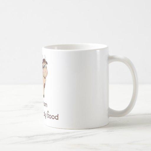 El Veganism, hace un cuerpo bueno Taza De Café