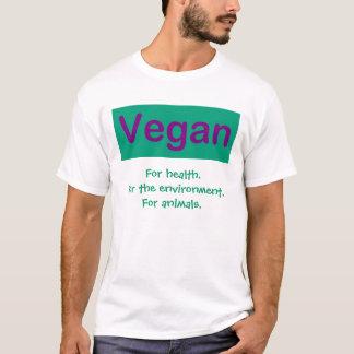 El vegano 2 echó a un lado camisa. playera