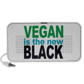 El vegano es el nuevo mini locutor negro iPhone altavoces