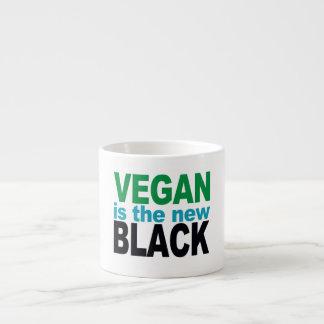 El vegano es el nuevo negro tazitas espresso
