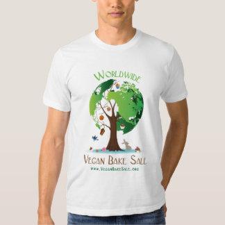 El vegano mundial cuece la camisa de la venta de