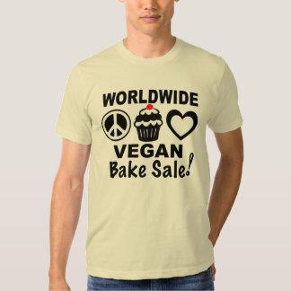 El vegano mundial cuece la camisa de la venta por