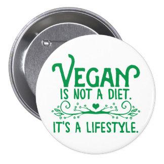 El vegano no es una dieta pins