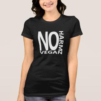 El vegano NO HACE NINGUNA camiseta del DAÑO Poleras