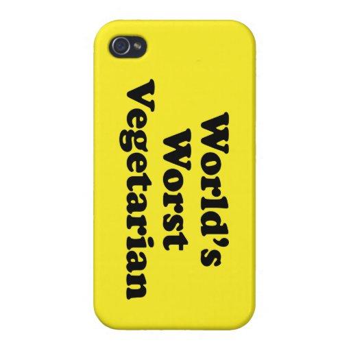El vegetariano peor del mundo iPhone 4/4S fundas
