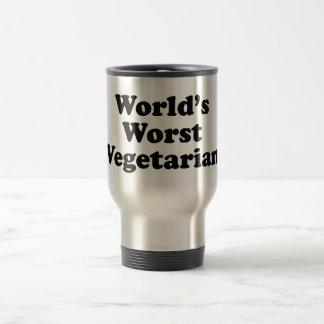 El vegetariano peor del mundo taza de viaje