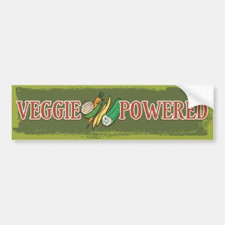 El Veggie accionó 1 Etiqueta De Parachoque