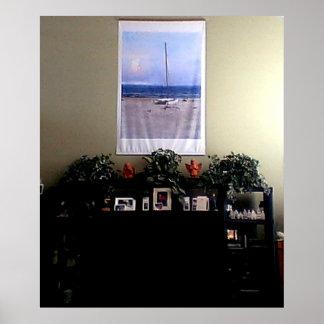 El velero 40x60 del jGibney de la serie del artist Poster