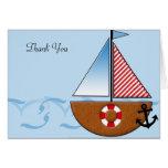 El velero azul le agradece felicitacion
