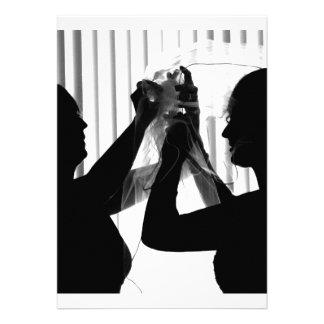 El velo ajusta la imagen del boda de la fotografía anuncios personalizados