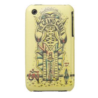 el velo magnífico del iphone de la cábala iPhone 3 carcasa