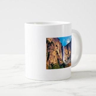 El velo nupcial baja parque nacional de Yosemite Taza Jumbo