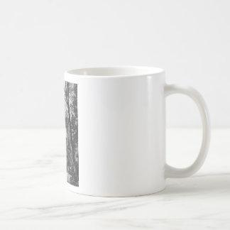 El velo nupcial de Yosemite baja vintage Californi Tazas De Café