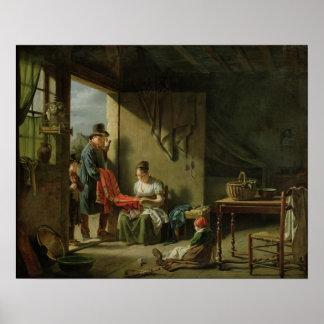 El vendedor ambulante, 1812 poster