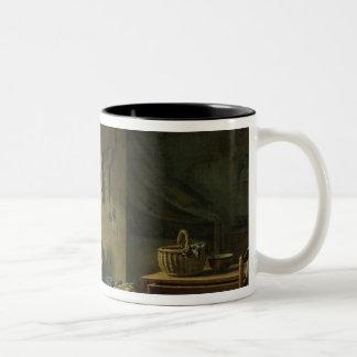 El vendedor ambulante, 1812 taza de café de dos colores