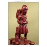 El vendedor ambulante de Swaffham, c.1462 Tarjeta De Felicitación
