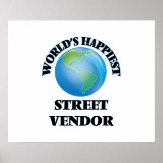 El vendedor ambulante más feliz del mundo póster