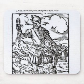 El vendedor ambulante, publicado por Hartman Schop Alfombrilla De Ratones
