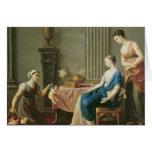 El vendedor de amores, 1763 tarjeta de felicitación