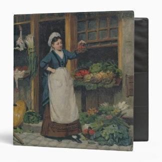 El vendedor de la fruta