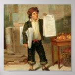 El vendedor de periódicos impresiones