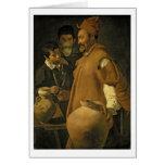 El vendedor del agua de Sevilla, c.1620 (aceite en Tarjeta De Felicitación