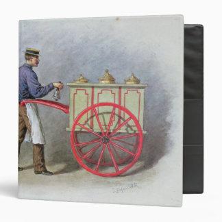 """El vendedor del helado, 1895 carpeta 1 1/2"""""""